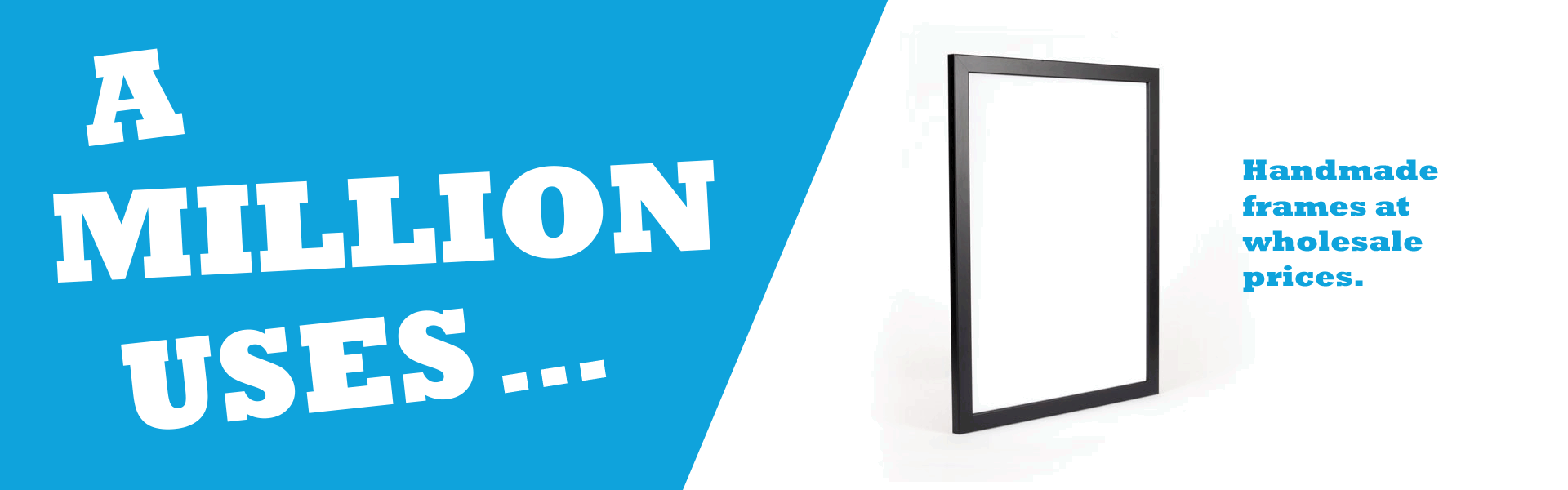 Shortrunposters.com has the best prices on handmade frames.